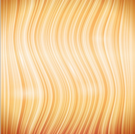 beige wooden or hair waves seamless pattern Stock Vector - 17769494