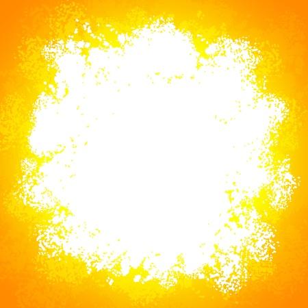 Orange bright  grunge colorful explode Stock Vector - 17854220