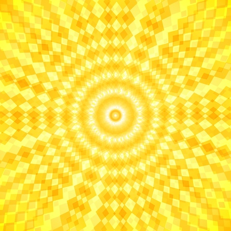 rise and shine: Abstract sunny waves background