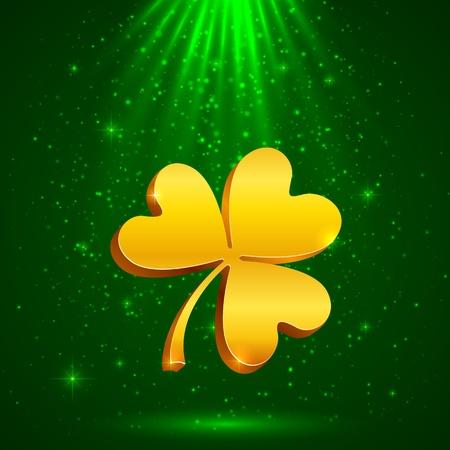 glowworm: Golden clover in the magic light