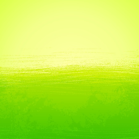 green background: Abstract bright painted green background