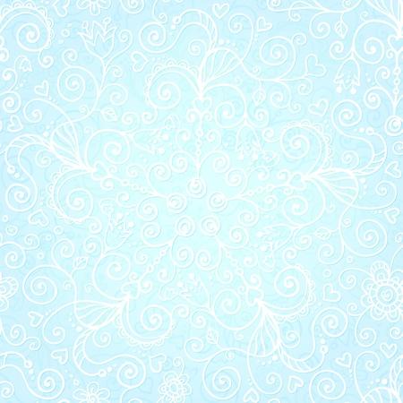 Vector doodles vintage ornate seamless pattern Stock Vector - 19355904