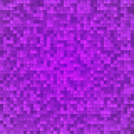 Abstract violet pixel mosaic seamless background Stock Vector - 19355899