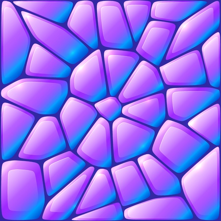 paving stone: Glance violet vector rocks seamless pattern