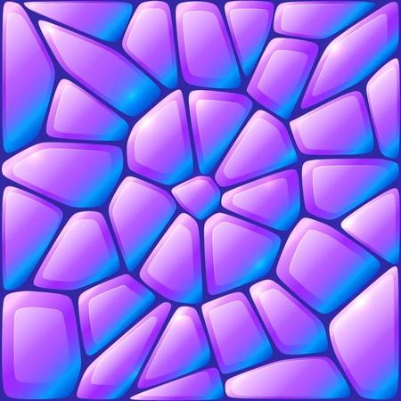 stone work: Vistazo rocas vector violeta sin patr�n