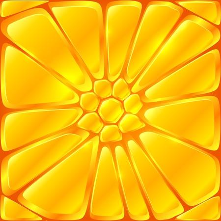 Golden yellow vector bricks seamless pattern tile Stock Vector - 19355933