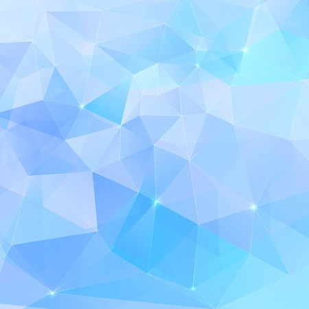Abstract triangles geometry vector background Stock Photo - 19355910