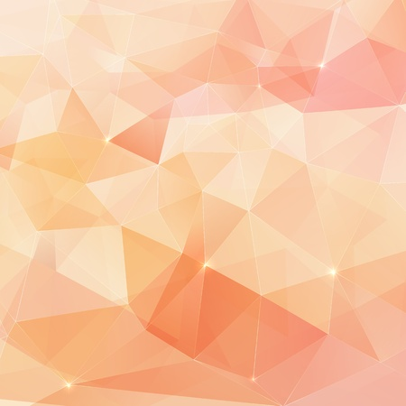 Abstract triangles geometry vector background Stock Photo - 19355909