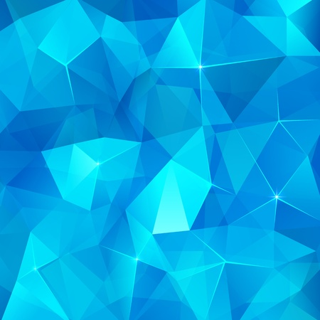 diamond shape: Ice cubes abstract vector background