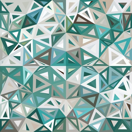 mottled: Blue and gray mottled abstract triangles