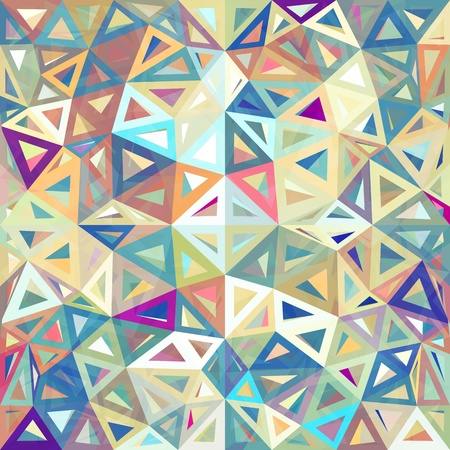 Mottled abstract triangles vector background Stock Vector - 20185011