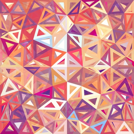mottled: Mottled abstract triangles vector background Stock Photo
