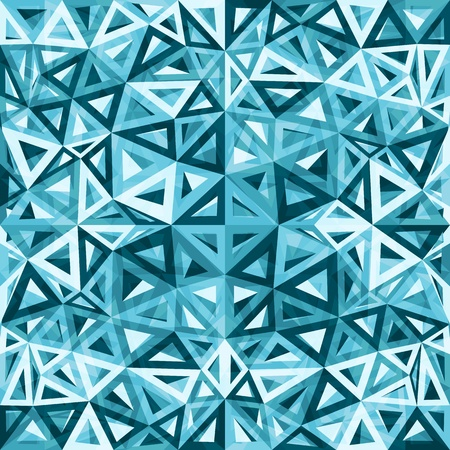 Blue abstract triangles vector background Stock Photo - 20185023