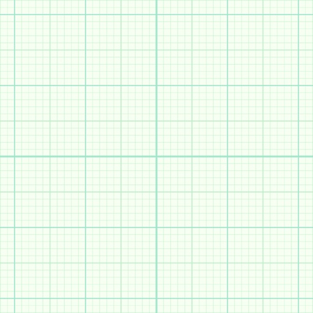 graph paper background: Real size blue millimeter engineering paper Illustration