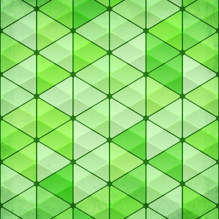 Green vintage triangles background Stock Vector - 20722617