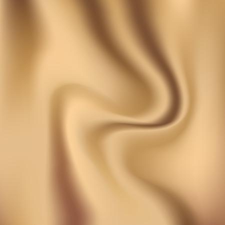 caramel: Creamy glossy silk vector abstract fashion background