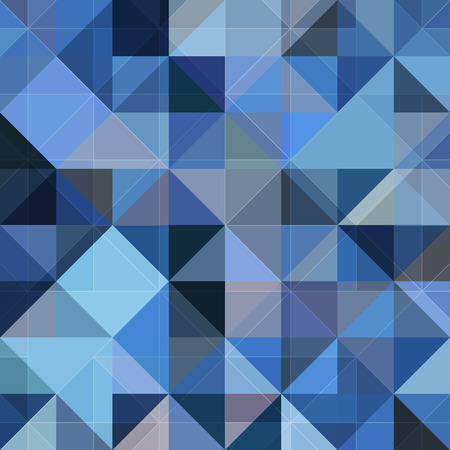 prism: Abstract geometry pattern blue vector grunge background
