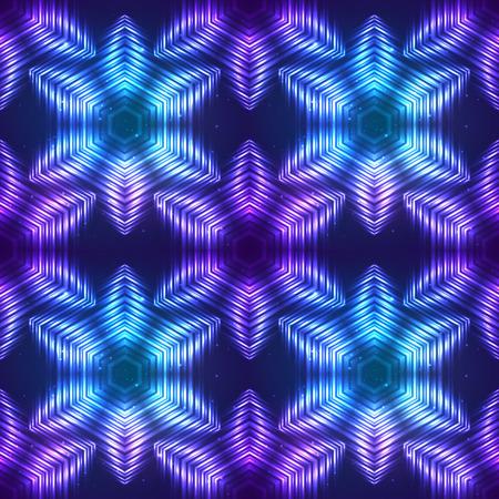 shining light: Cosmic luz brillante vector patr�n abstracto sin fisuras Vectores