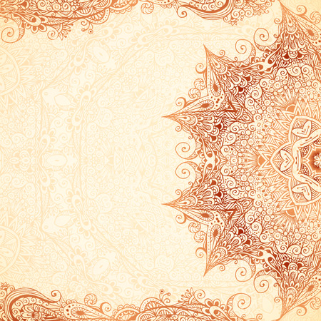 Vintage vector hand-drawn background Vector