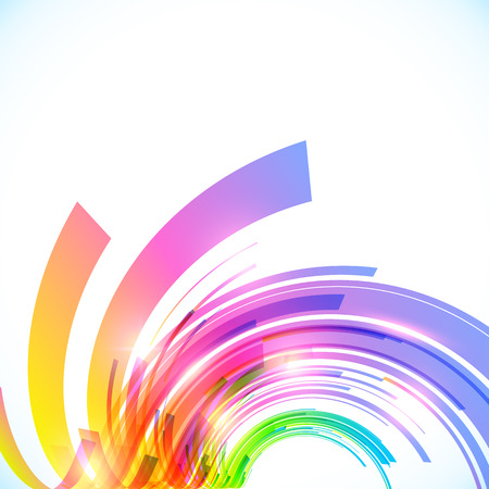 Rainbow colors abstract shining background Illustration