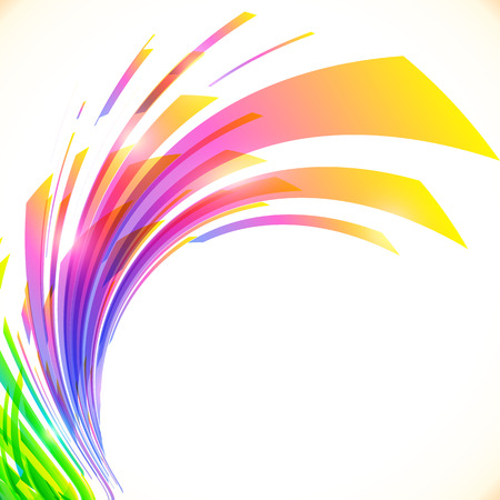 Regenboog kleuren abstracte glanzende achtergrond Stock Illustratie