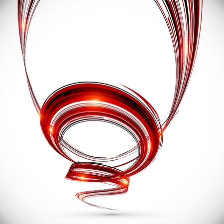 rojo oscuro: Fondo espiral rojo oscuro abstracto