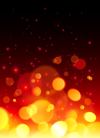 sparkler: Bright bokeh effect fire  abstract background