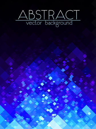 Bright blue grid abstract vertical background