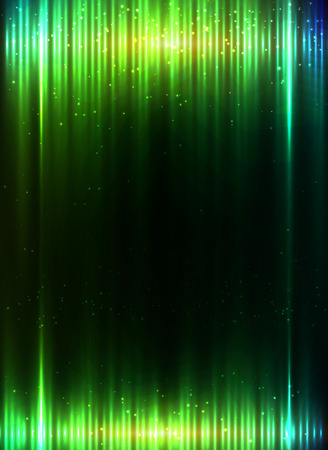 backdrops: Green shining equalizer vector abstract background