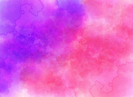 Purple and pink watercolor effect vector background Фото со стока - 44338316