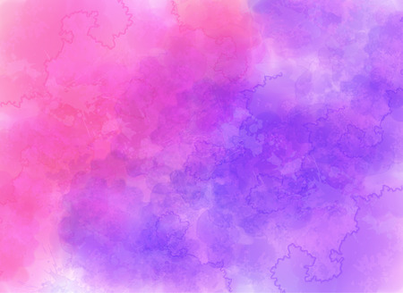 Purple and pink watercolor effect vector background