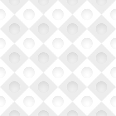 indentation: Vector gray simple grid with round holes Illustration
