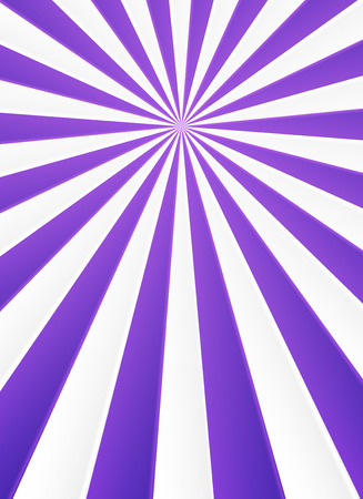 carnevale: Violet and white rays vector abstract circus poster background