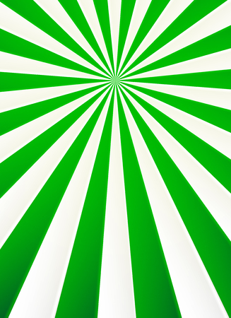 circus vector: Green and white rays vector abstract circus poster background