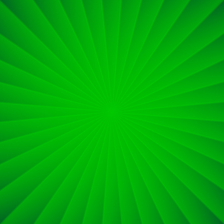 Green rays circle vector carnival squared background