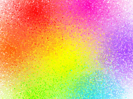 colors paint: Vivid rainbow colors vector sprayed paint abstract background