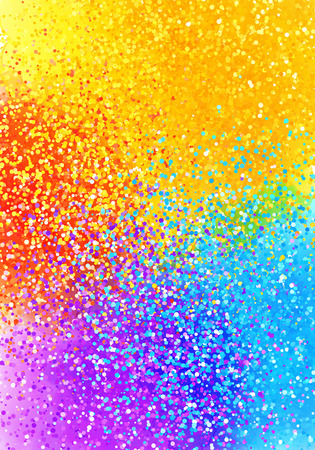 sprayed: Bright sprayed paint rainbow colors vector abstract vertical background