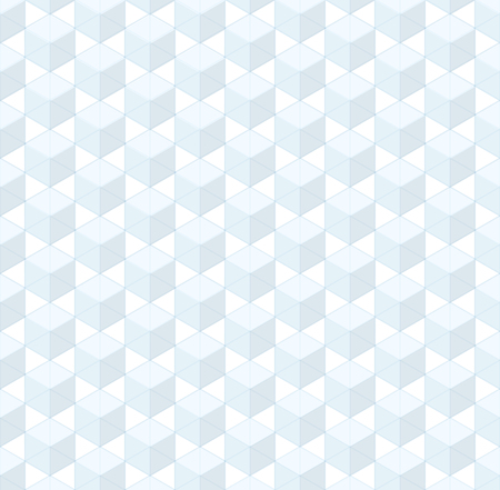 grid pattern: Abstract isometric box grid vector seamless pattern Illustration