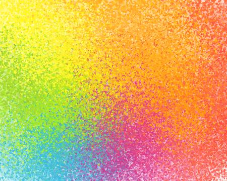 鮮やかな虹色ベクトル スプレー ペイントの抽象的な背景