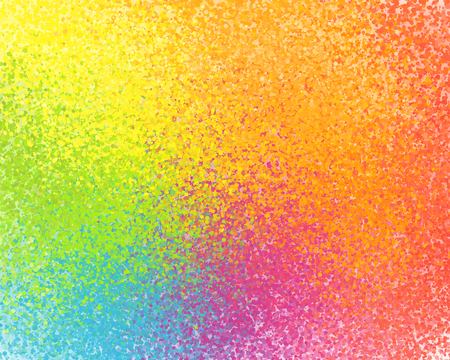 colors background: Vivid rainbow colors vector sprayed paint abstract background