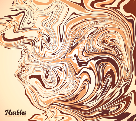 cappuccino: Cappuccino, coffee, chocolate and milk colors vector marble background