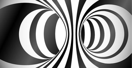 Wektor okrąża nawierzchniowego złudzenie optyczne abstrakta tło