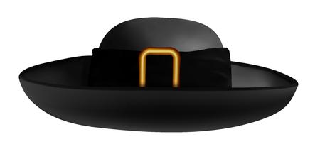 Breton hat vector illustration Banque d'images - 96976030