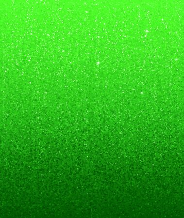 Green glitter gradient vector holiday poster background Illustration