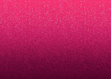 Pink shining glitter gradient vector Valentines day banner background Illustration