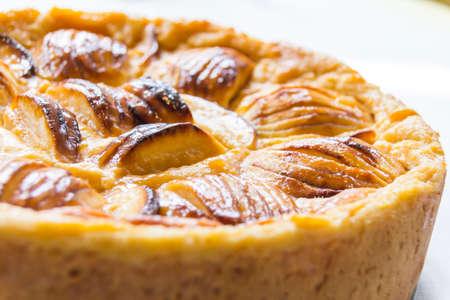 pastel de manzana: tarta de manzana