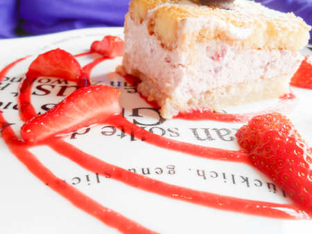 lunchtime: Strawberry Shortcake