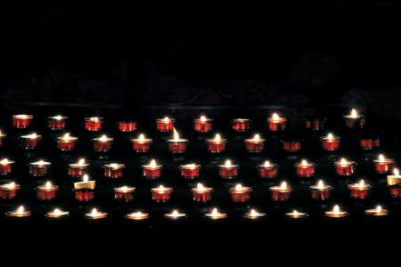 luz de velas: velas