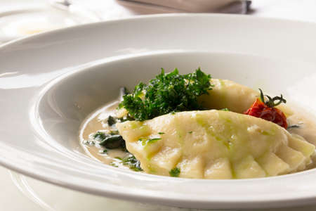 menue: soup appetizer