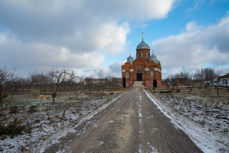 Monastery of St. Mary Magdalene with. Nikolsky in the Orel region Stock Photo